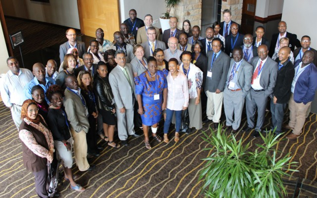 Some 40 particiapants from 12 African nations participated in the workshop. [Photo courtesy of ASSAf]
