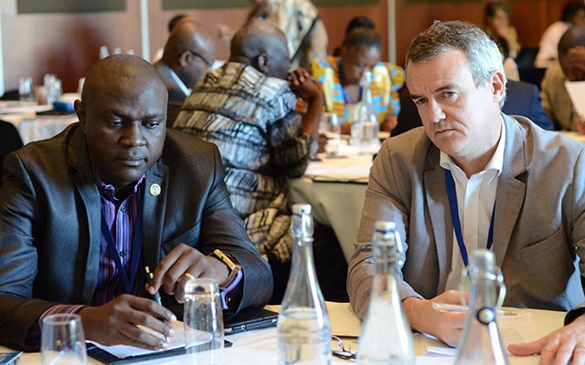 Some 40 participants from 12 nations attended a workshop on science advice for African governments. [Edward W. Lempinen/TWAS]