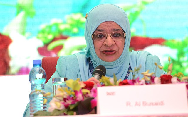 Rawya Al Busaidi, Oman's minister of higher education