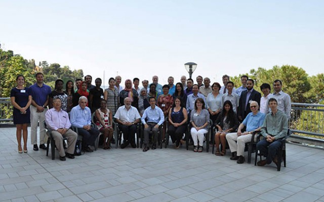 Participants in the AAAS-TWAS Science Diplomacy Course.