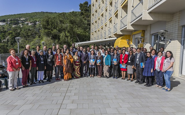 Over 40 outstanding scientists from developing countries are in Trieste, Italy, this week for our first-ever TWAS Research Grants Conference. (Photo: Paola Di Bella)