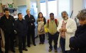 Participants in the science diplomacy workshop on high-altitude agriculture in Central Asia visit the National Institute for Oceanography and Experimental Geophysics (OGS) in Trieste, Italy. (Photo: Peter McGrath/TWAS)