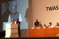 Prime Minister Singh addresses TWAS 21st General Meeting